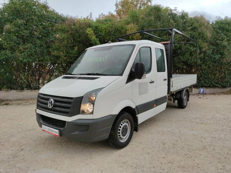 VOLKSWAGEN Crafter CCb 35 L2 2.0 TDI 136ch Double Cabine Business Line Plateau -
