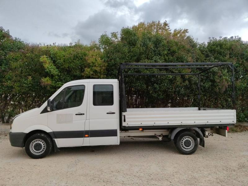 VOLKSWAGEN Crafter CCb 35 L2 2.0 TDI 136ch Double Cabine Business Line Plateau - 8
